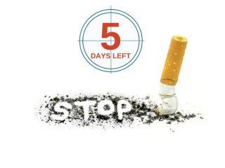 """Cách cai thuốc lá trong 5 ngày cho người """"nghiện"""" giai đoạn đầu"""