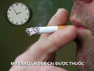 Người nghiện thuốc lá lâu năm mất bao lâu để cai thuốc hoàn toàn?