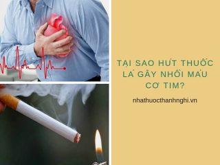 Tại sao hút thuốc lá lại gây nhồi máu cơ tim?