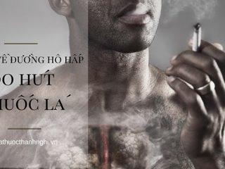 8 bệnh về đường hô hấp do hút thuốc lá