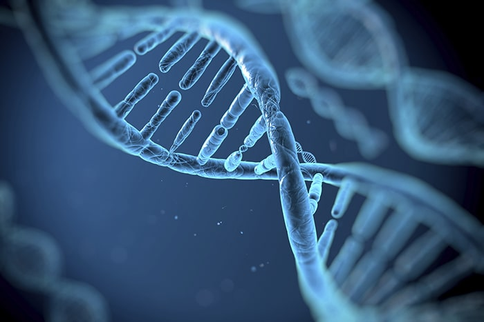 Thay đổi gen di truyền cũng là 1 trong số những nguyên nhân gây ung thư phổi tế bào nhỏ